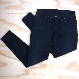 7 For All Mankind The Skinny Black Jeans